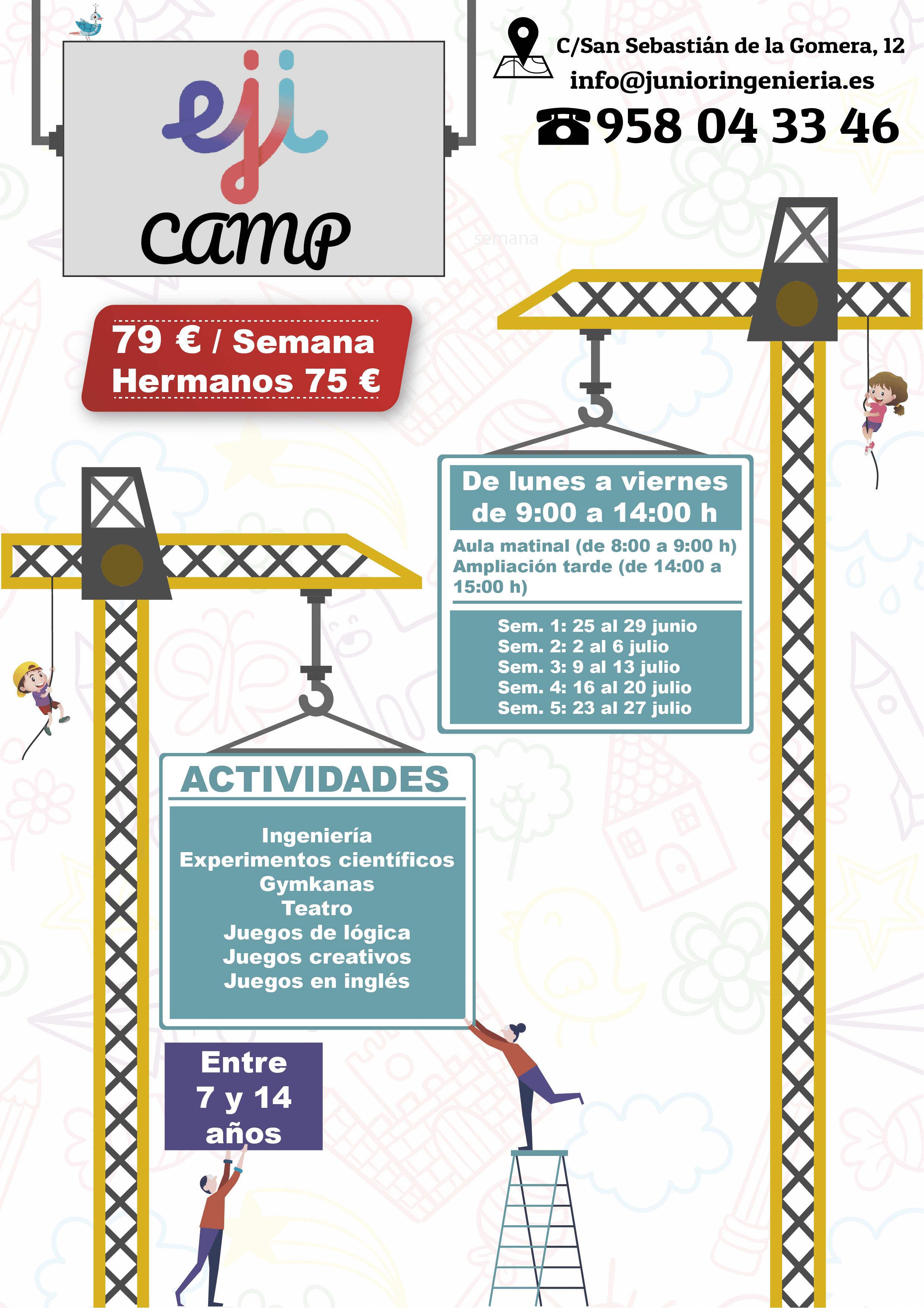 Campamento de Verano para niños y niñas EJI