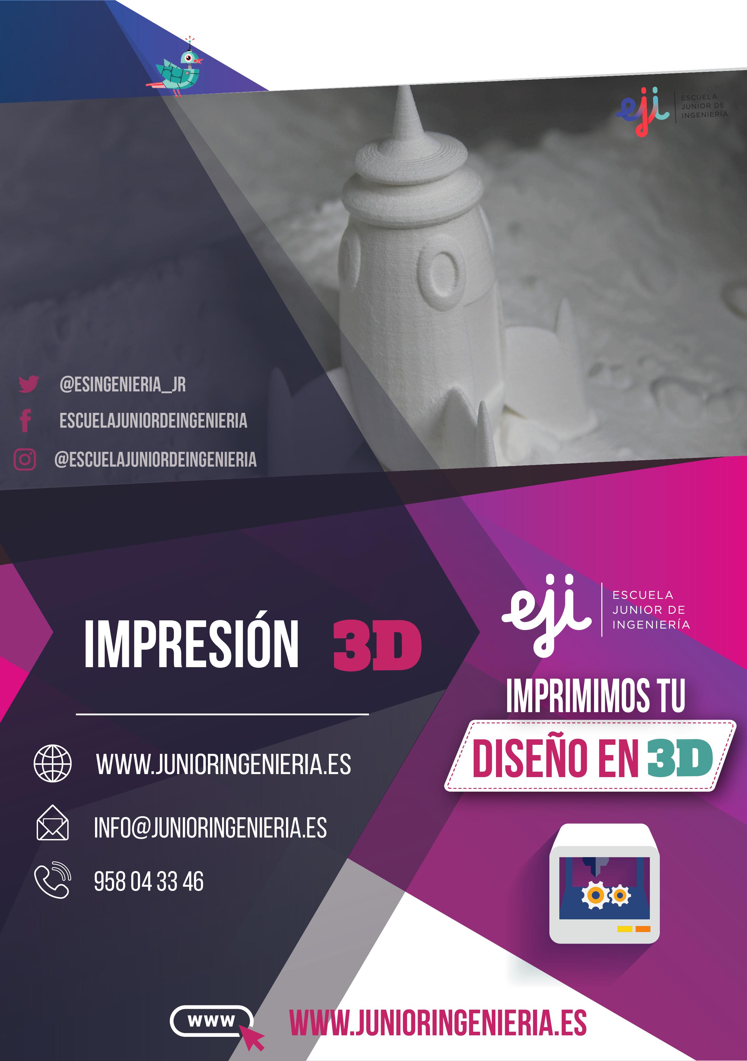 Impresión 3D Granada