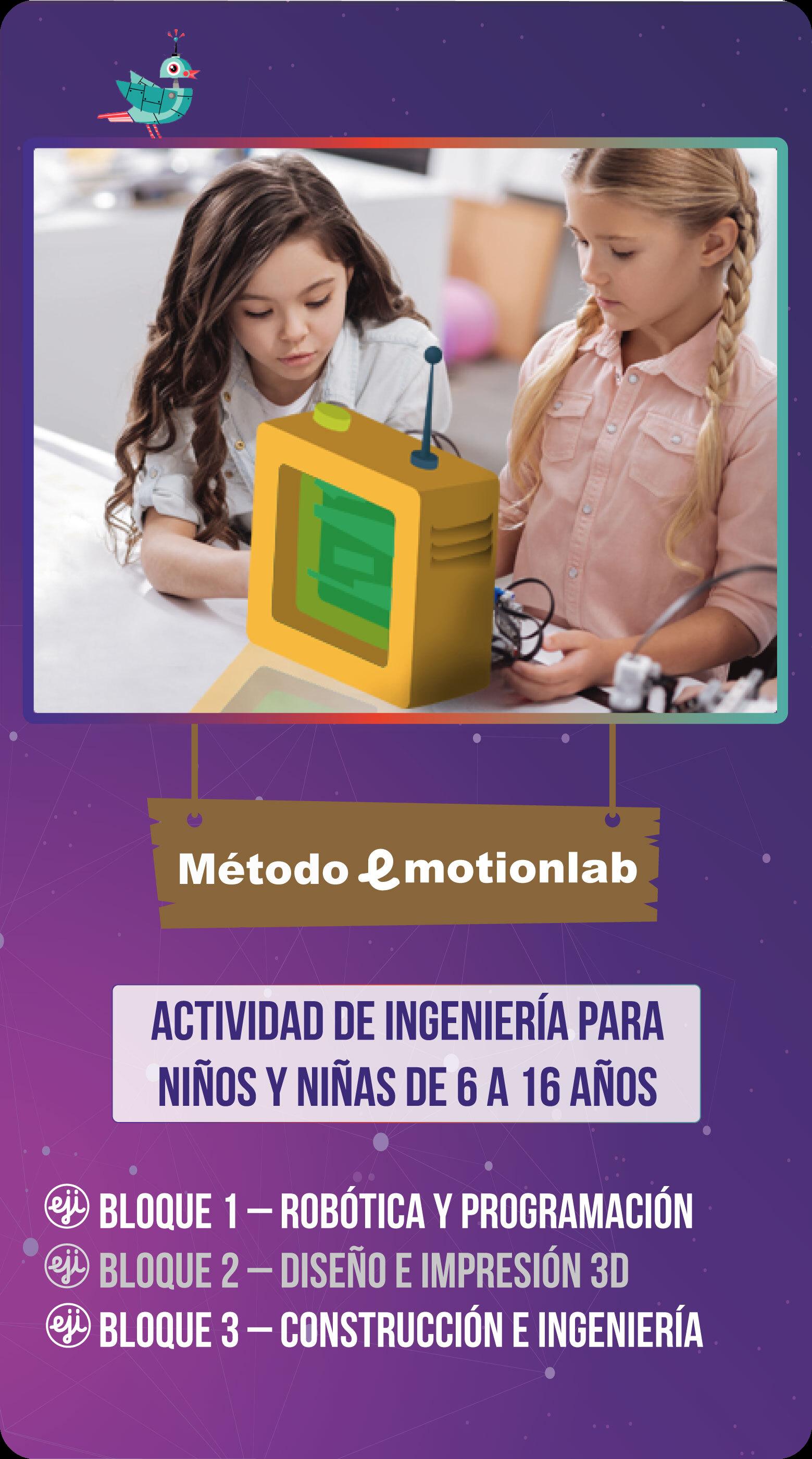 Curso de robótica para niñas y niños